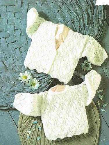 4359H baby jumper vintage knitting pattern  PDF Download