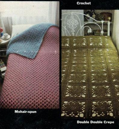 4211 bedspreads Vintage crochet pattern  PDF Download