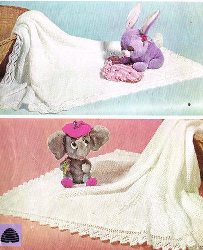 9496P baby vintage knitting pattern PDF