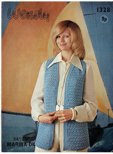 1328W ladies Waistcoat PDF