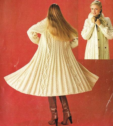 6152S ladies vintage knitting pattern PDF