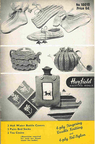 1000010H novelties vintage knitting pattern  PDF Download