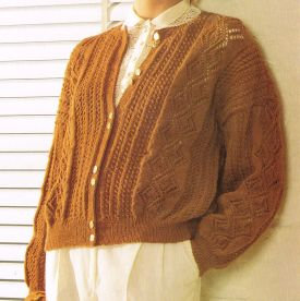 5998Ja Ladies vintage knitting pattern PDF