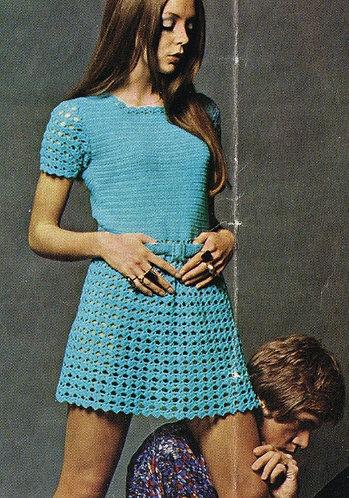 8065S ladies vintage crochet pattern PDF