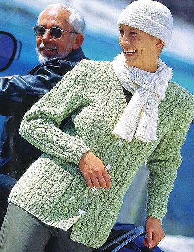 5765S Ladies vintage knitting pattern PDF