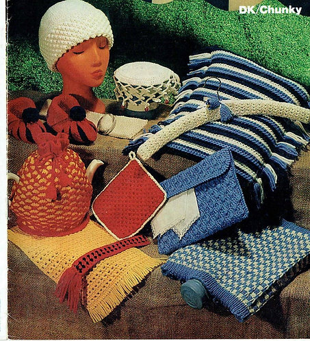 1691 novelties knit and crochet Vintage knitting pattern  PDF Download