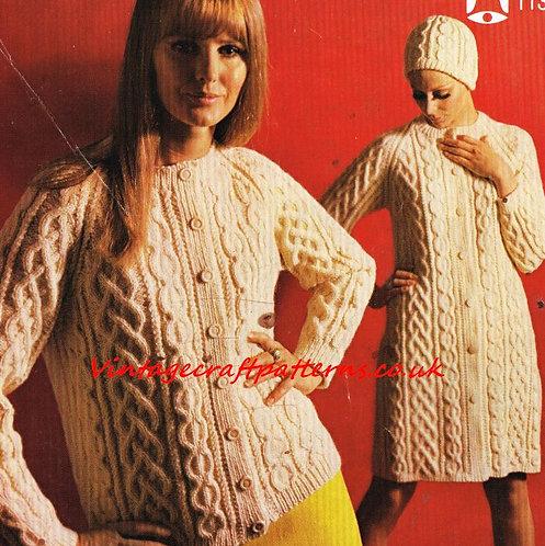 1135Be ladies coat cardigan PDF