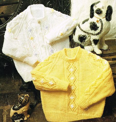 1841rp baby vintage knitting pattern PDF