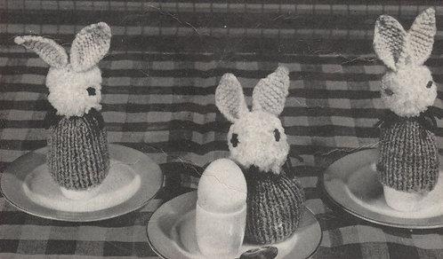 3 bunnies egg cosies PDF