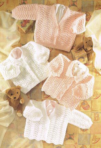 3903S Baby vintage knitting pattern
