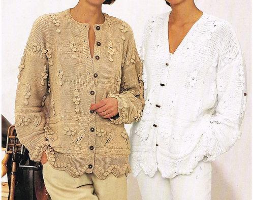 9784S ladies vintage knitting pattern PDF