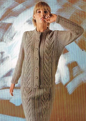 2283S Ladies vintage crochet pattern PDF