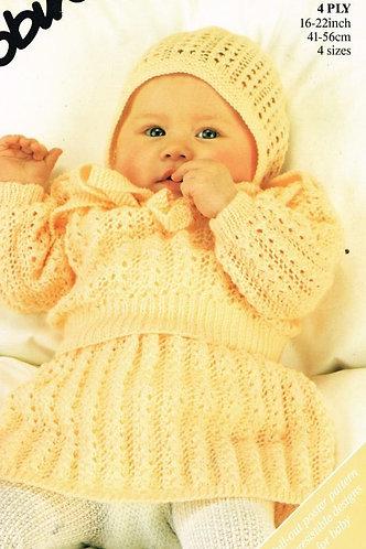 14906R baby vintage knitting pattern PDF