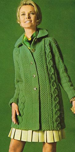 B164-1064 ladies vintage knitting pattern PDF