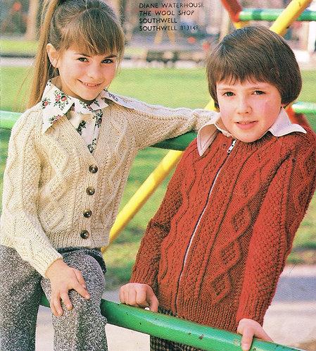 220sun childrens cardigan PDF