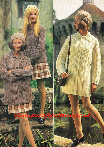 2799E Ladies vintage knitting pattern PDF