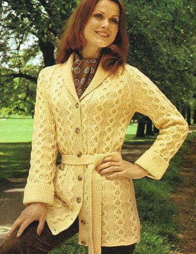 2422P Ladies vintage knitting pattern PDF
