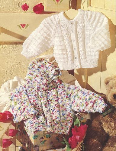 4948P baby vintage knitting pattern PDF