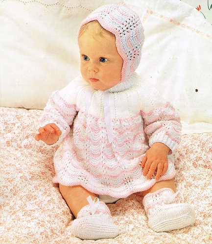 230Ar baby knitting pattern PDF