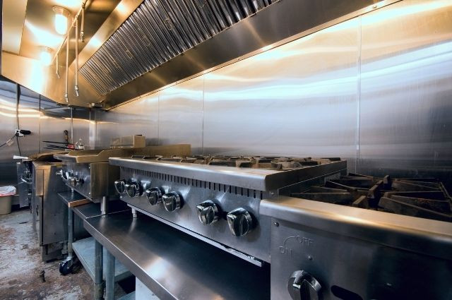 restaurant kitchen hood