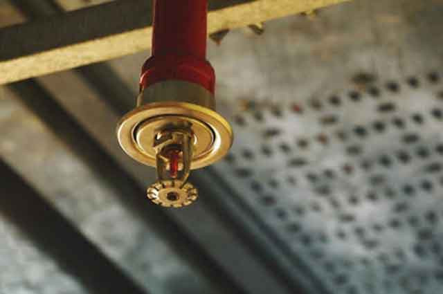 fire sprinkler inspection