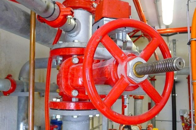 parts of a fire sprinkler system