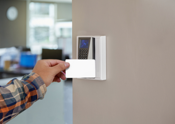 office key card entry system