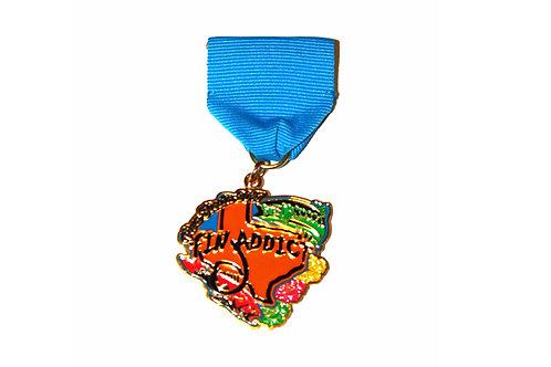 Fin Addict 2017 Fiesta Medal