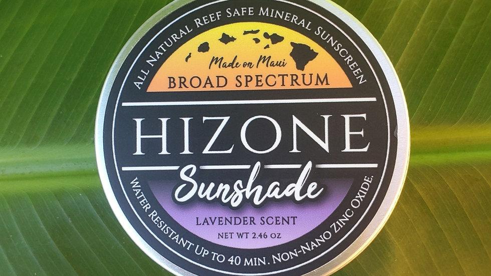 "Lavender Sunshade ""Mineral Sunscreen"""