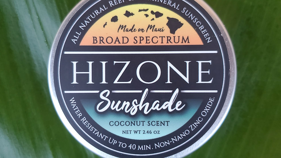 "Coconut Sunshade ""Mineral Sunscreen"""