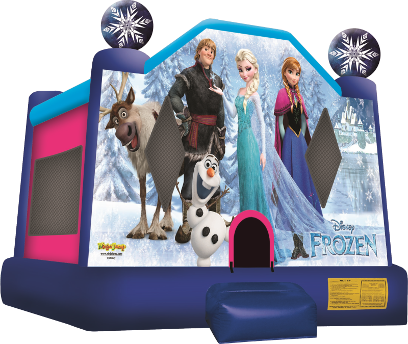 BOUNCE HOUSES FROM DISNEY'S FROZEN