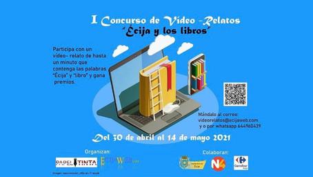 I concurso vídeo-relatos Écija y los libros