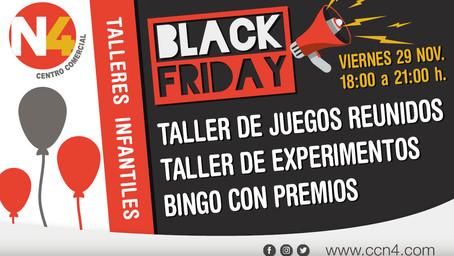 TALLERES ESPECIAL PARA EL BLACK FRIDAY