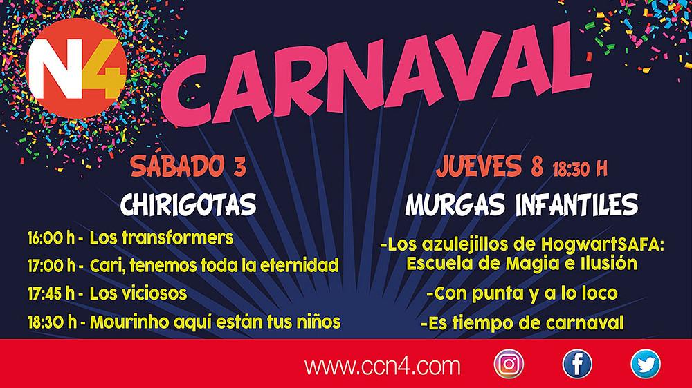 CARNAVAL EN N4