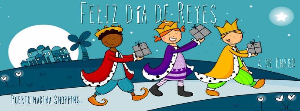 Feliz día de Reyes puerto marina shopping