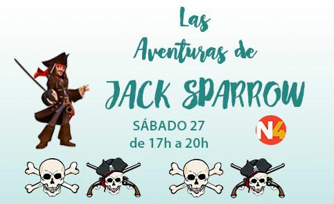 Las Aventuras de Jack sparrow