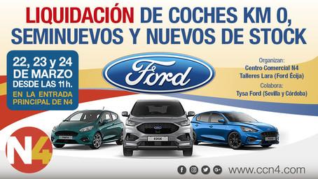 Liquidación de coches nuevos y seminuevos ford