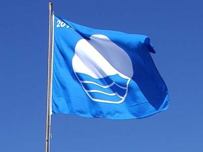 Bandera azul en Benalmádena