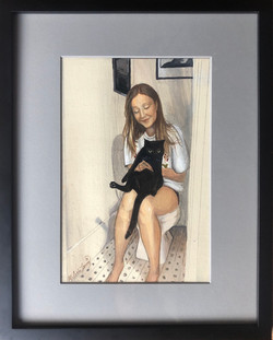 """""""Girl with Cat"""""""