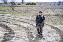 Walking through the mud