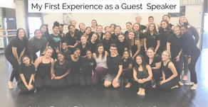 Guest Speaker Reflection: What I Wish I knew as a High School Dancer...