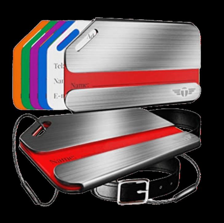 Talonport luggage tag, travel accessory