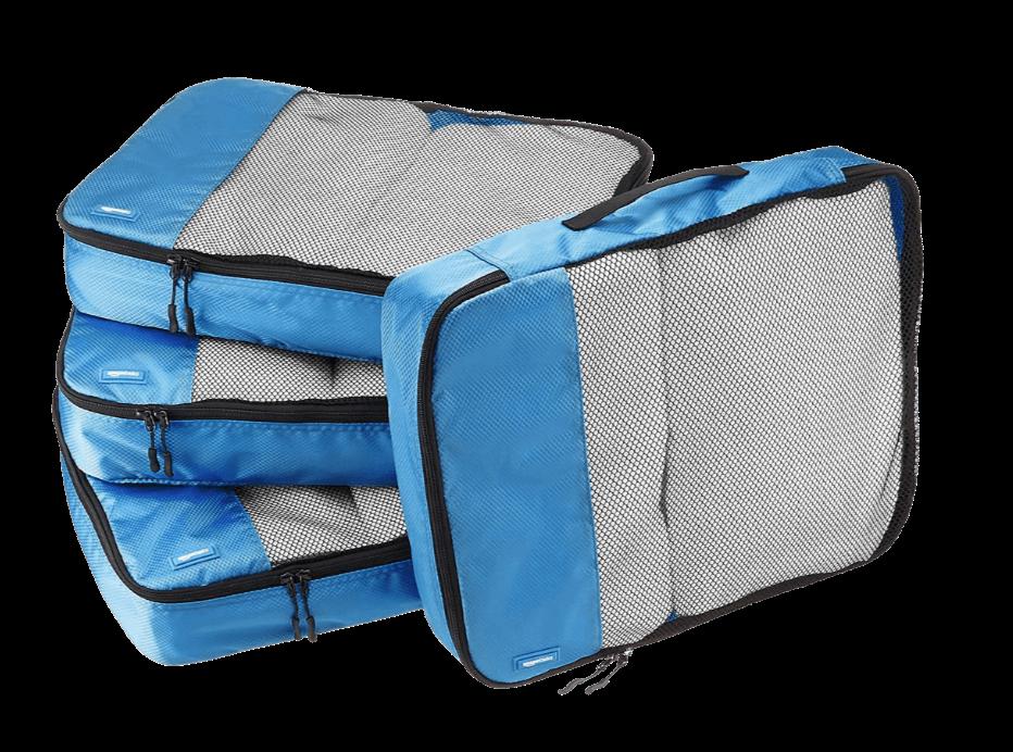 Amazon Basics travel cubes as travel accessory