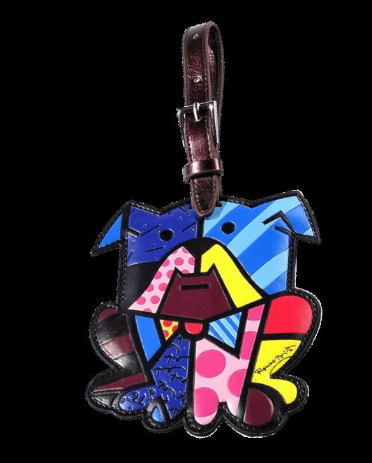 Dog shape  luggage tag as travel accessory