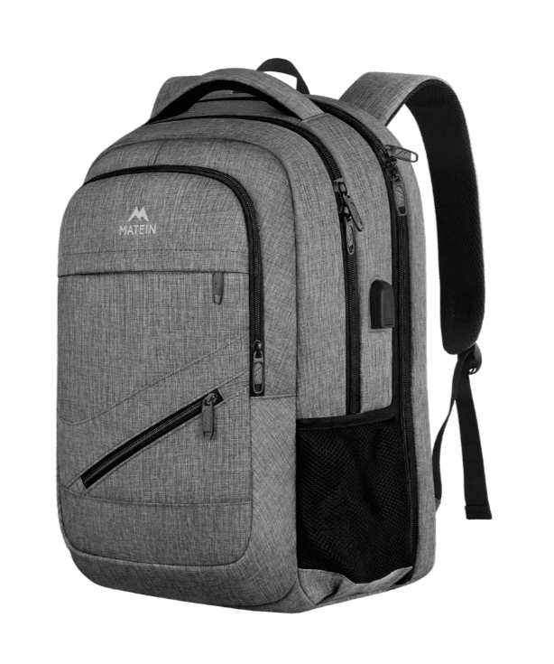matein backpack as travel accessory