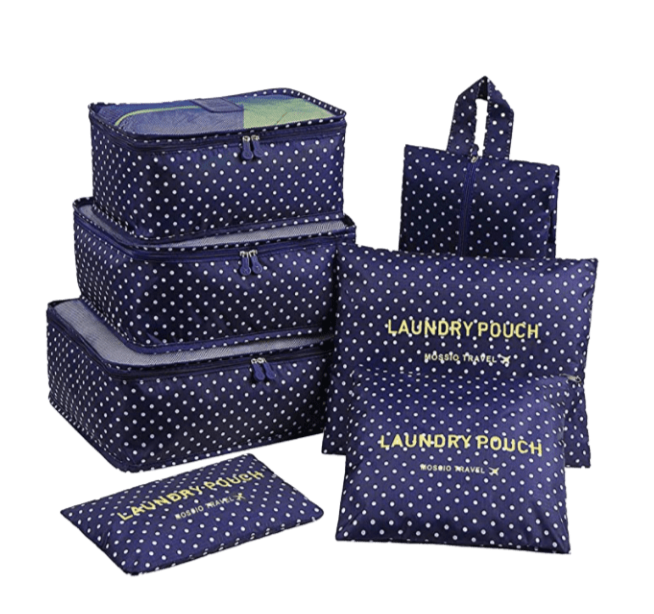 Packing cubes by Mossio as travel accessory