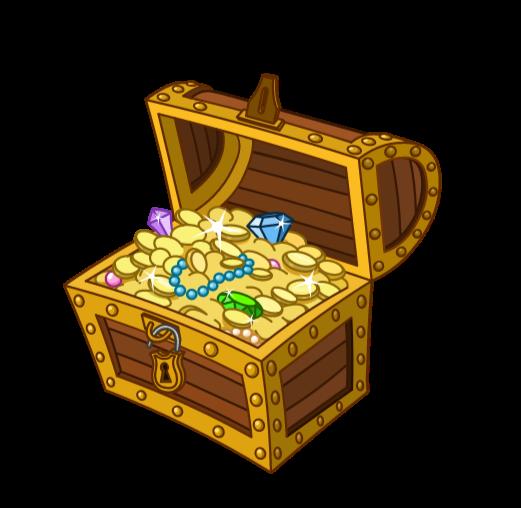 chest full of Treasure