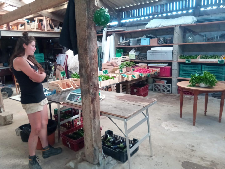 le magasin à la ferme