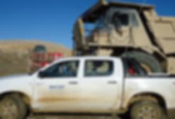 vehiculo mineria