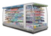 Heladera supermercado